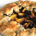 Bilingual Blueberries: Mango and Blueberry Galette (or is it Crostada?)