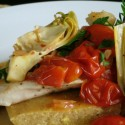 All Choked Up: Chicken with Tomatoes and Artichokes
