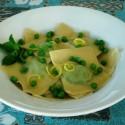 Spring on a Fork: Pea Pesto Ravioli