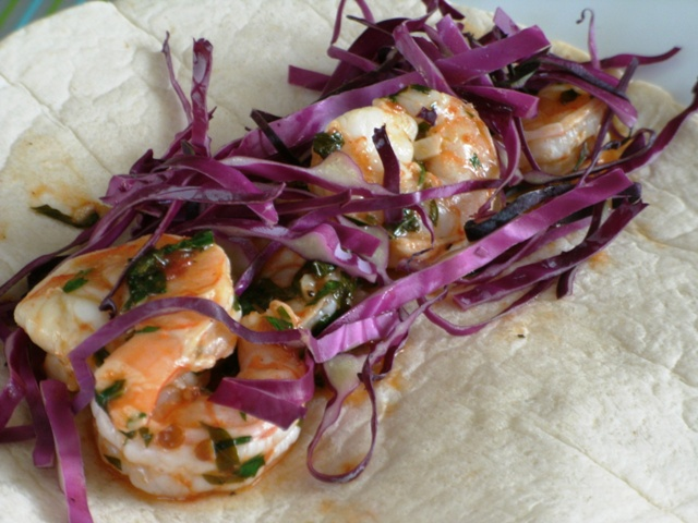 Stolen Inspiration: Chipotle Poached Shrimp Tacos