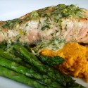 Be Prepared: Pan Seared Salmon with Orange Dill Reduction