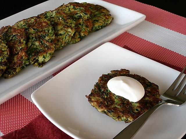 Thank Goodness for the Farmer's Market: Zesty Zucchini Cakes