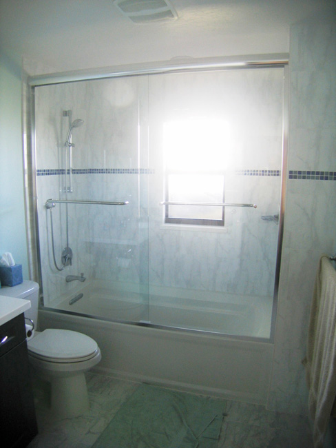 Bathtub and Enclosure